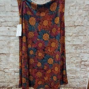 2/$25 Lg Lularoe Azure skirt NWT